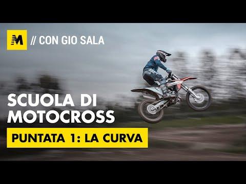 Scuola Di Motocross Con Gio Sala: La Curva, Pt 1 [English Sub.]