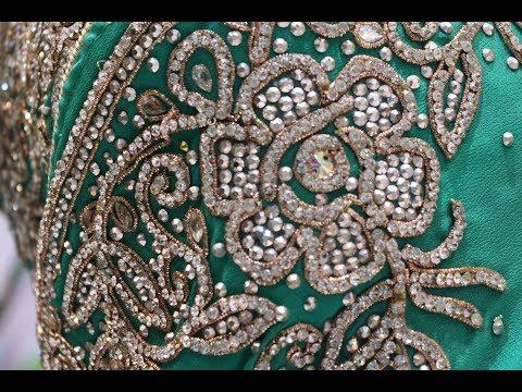 AR-162 Elegant Designer Saree || Stone Work || Zardozi Work || Hand Work || Wedding Wear