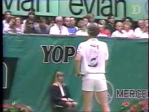 Mcenroe vs Connors Final - Toulouse 1989 - 04/11