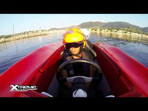 SPEED BOAT GO PRO XTREME VIDEO