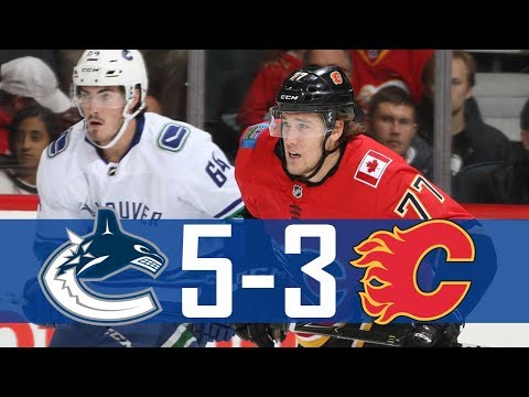 Canucks vs Flames | Pre Season | Highlights (Sept. 20, 2017) [HD]