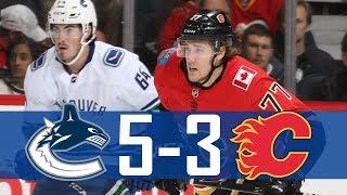 Canucks vs Flames | Pre Season | Highlights (Sept. 20, 2017) [HD]