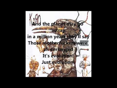 KoRn - Evolution + Lyrics (1080p)