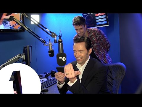 Hugh Jackman gets a cricket message from Michael Vaughan & Graeme Swann