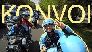 Uber Motor Konvoi Keliling Bandung, Aman?