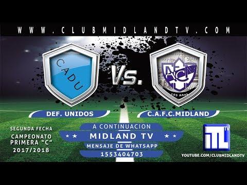 Def. Unidos vs Midland en vivo