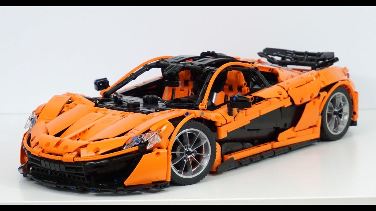Lego Technic MOC McLaren P1 hypercar 1:8 - w/ manual + RC ...