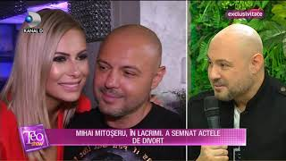 Teo Show (19.11.2019) - Mihai Mitoseru, in lacrimi. Astazi a semnat actele de divort! EXCLUSIV