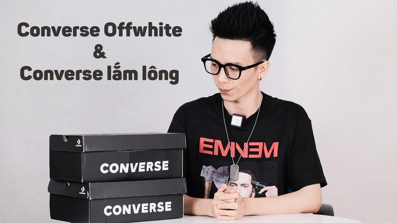 Giới thiệu với các bạn 2 đôi Converse đặc biệt mà mình mới mua