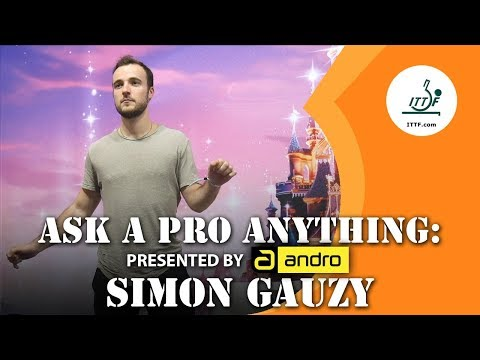Simon Gauzy   Ask A Pro Anything Presented By Andro