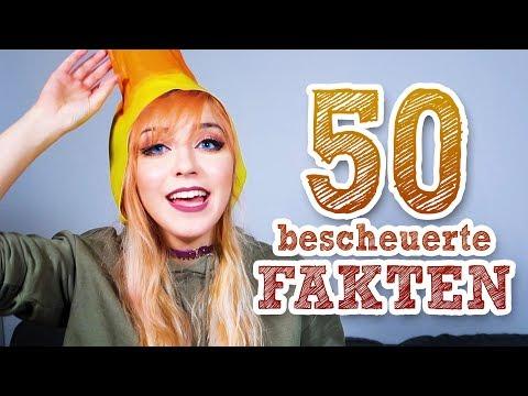 50 Fakten über mich (50.000 Abo Special)
