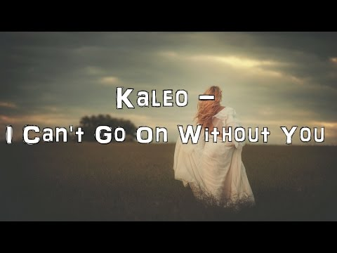 Kaleo - I Can't Go On Without You [Acoustic Cover.Lyrics.Karaoke]