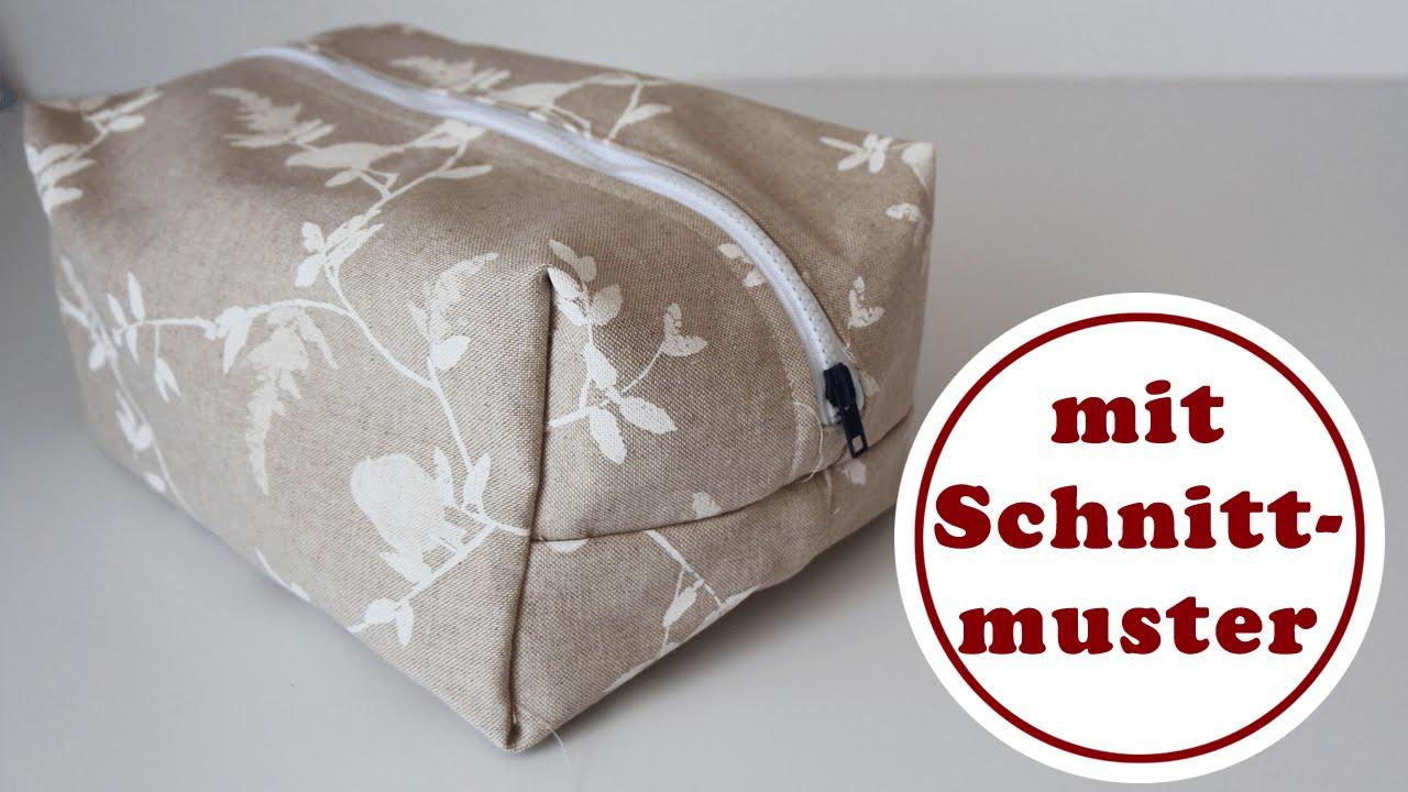 Boxbag nähen mit Doppelnähten| mit ChezNU-Schnittmuster | Boxbag ...