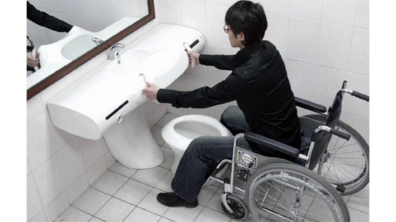 Diseño de baño accesible para discapacitados - YouTube