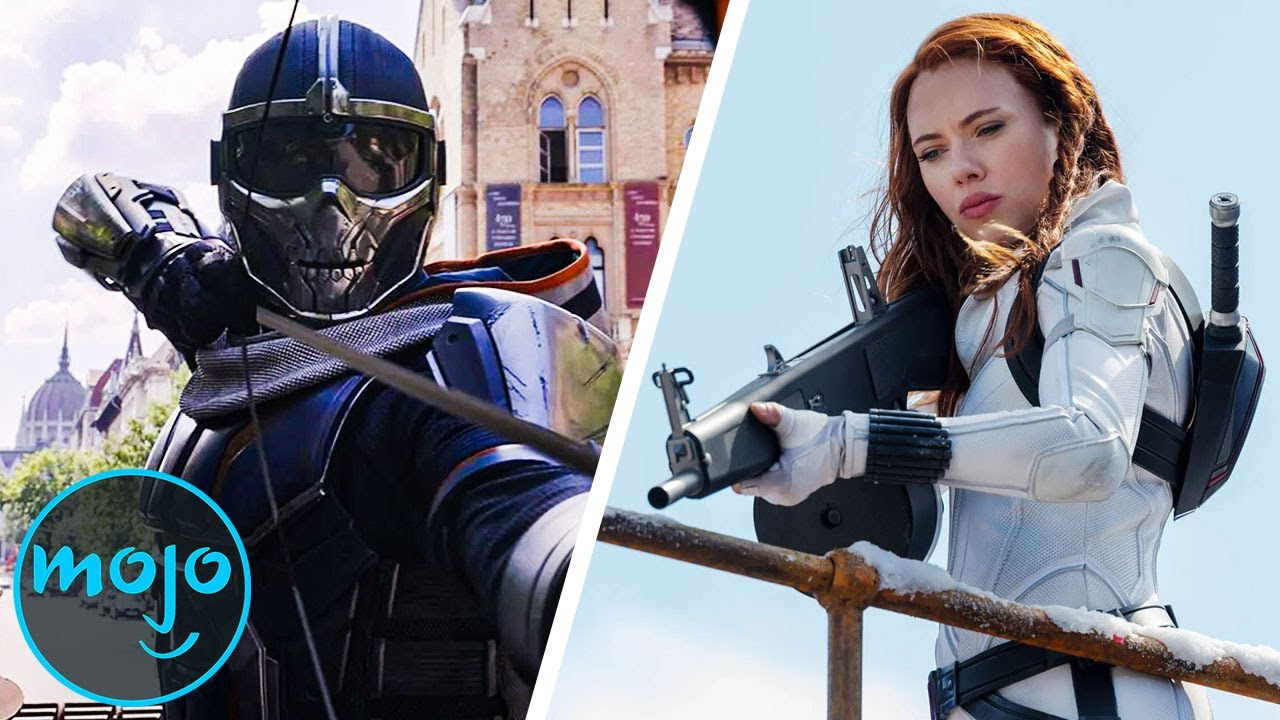 Download Top 10 Best Moments From Black Widow