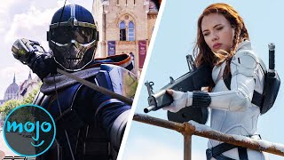 Top 10 Best Moments From Black Widow