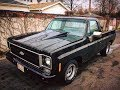 1977 C10 chevy pickup short bed Gopro