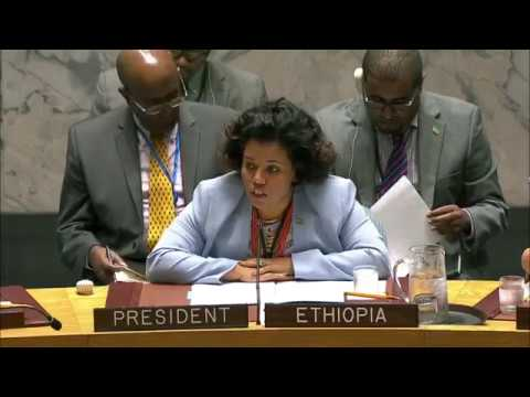 Ethiopia at the UN Security Council NewYork