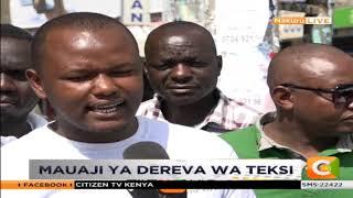 Polisi wanachunguza kisa cha mauaji ya dereva wa teksi Nakuru.