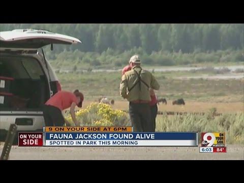 Fauna Jackson found alive