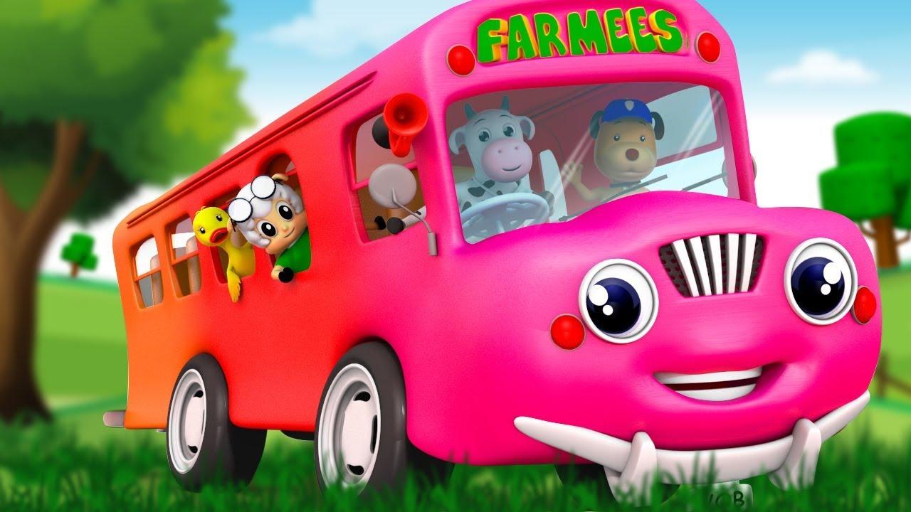 ABC Song | 3D Rhymes | Cartoon Videos & Kids Songs - Farmees