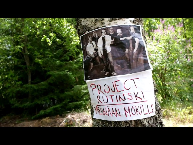 Project Rutinski - Mökille (music & lyrics video)