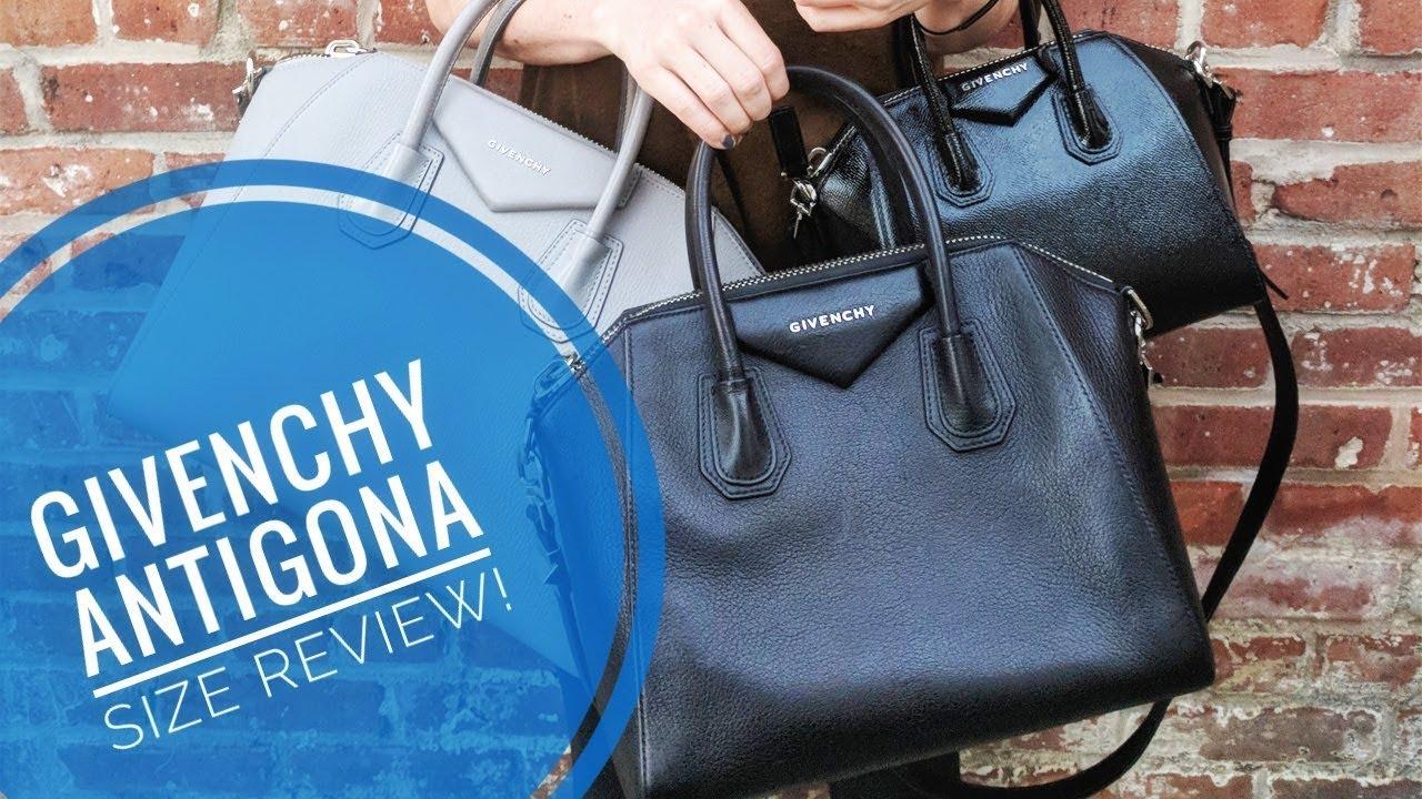 99bc35f8be Mini, Small, or Medium? Which Size Givenchy Antigona Should You Buy ...