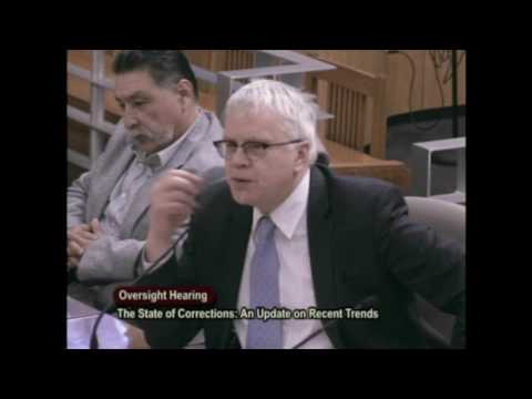 CA Senate Budget Committee - The State of Corrections: Tim Robbins Testimony (2/23/17)