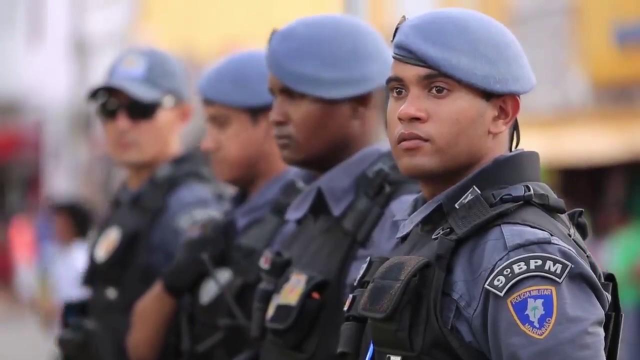 """A """"Briosa"""" Polícia Militar do Maranhão comemorou aniversário de ..."""