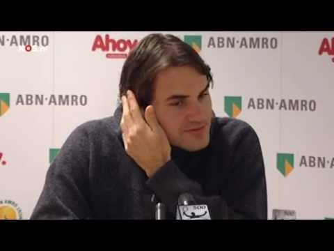 Roger Federer Press Conference After Title Rotterdam 2012 Interview ABN AMRO WTT
