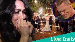 John Cena felt regretful because Nikki Bella burst into tears at his wedding and new girlfriend