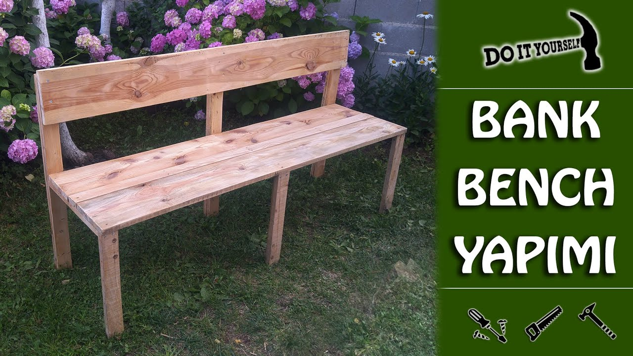 Paletten Bank Yapımı   Wooden Outdoor Sofa   DIY wooden sofa woodworking