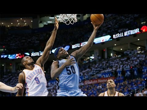 Grizzlies vs Thunder Game 2 Full Game Highlights.(April 21th 2014)