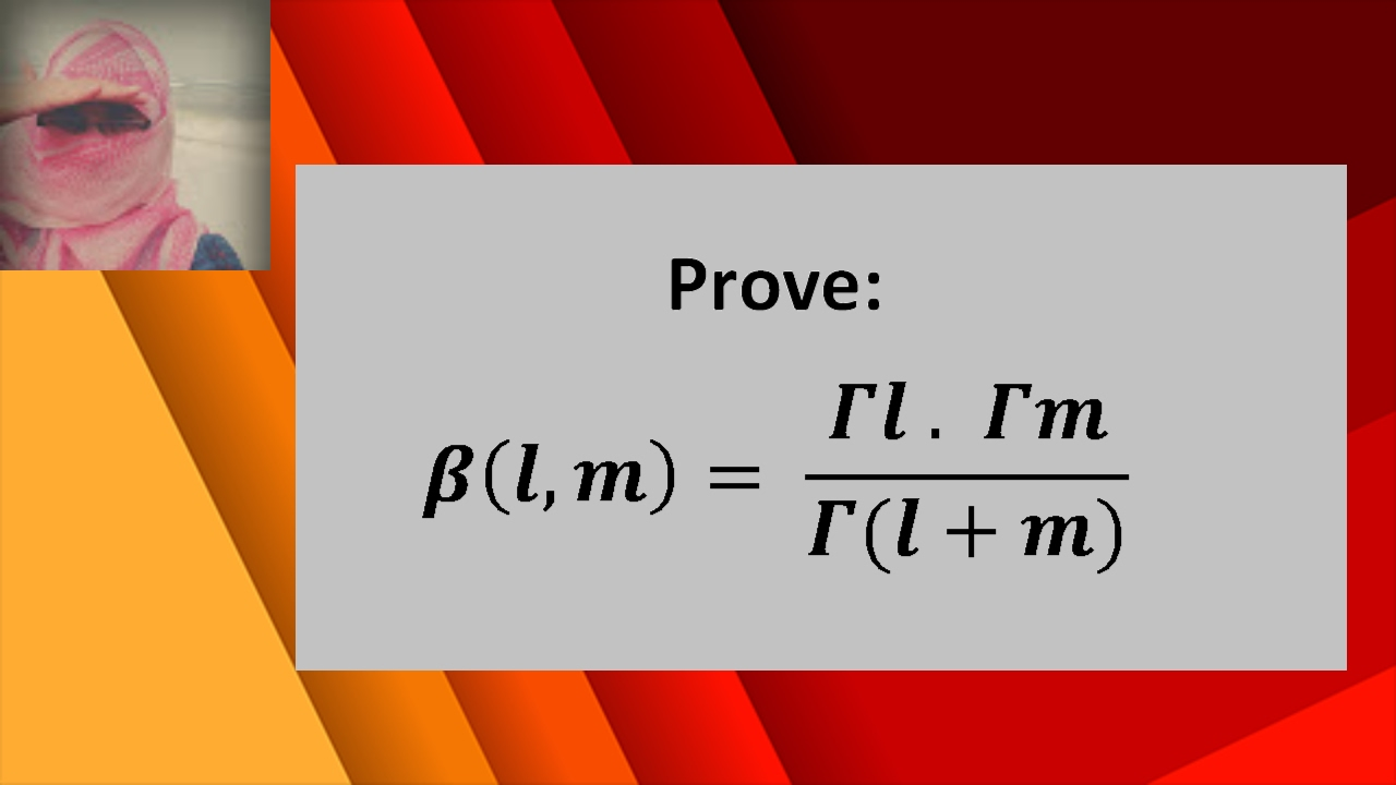 Relation between beta and gamma functions (Proof): Euler integrals of 1st &  2nd type