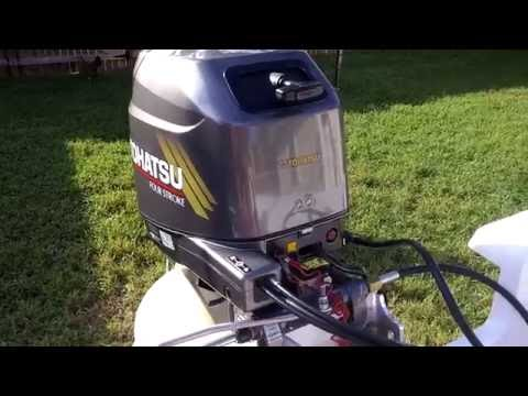 2002 Tohatsu 25HP Coversion From Tiller To Remote