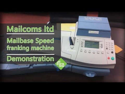 Franking Machines - Mailbase Speed Franking Machine