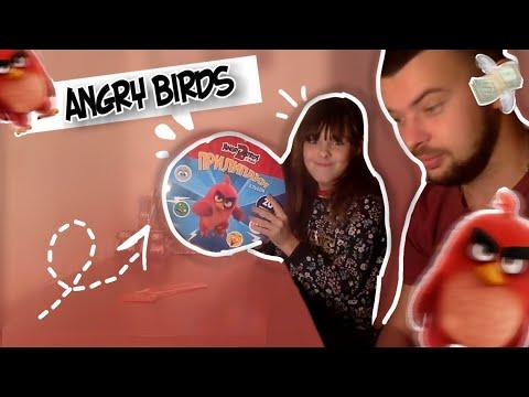 ANGRY BIRDS!!!АКЦИЯ! В еве распаковка для детей