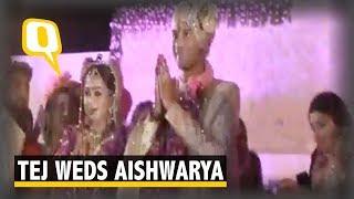 Lalu Yadav's Son Tej Pratap Yadav Gets Hitched to Aishwarya Rai  | The Quint