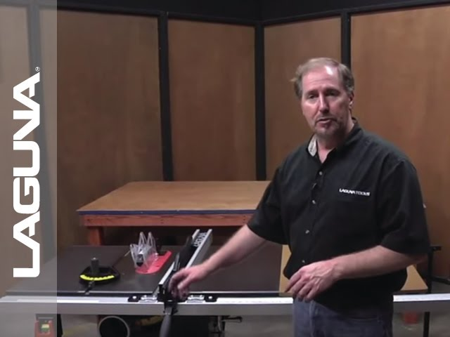 Fusion Tablesaw Setup - Routine Maintenance - Part 18 of 18
