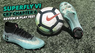 MERCURIAL SUPERFLY VI | REVIEW & PLAY TEST | CR7 CHAPTER ...