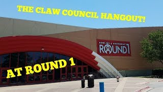 Video THE CLAW COUNCIL HANGOUT! AT ROUND 1 (Arcade Adventure) download MP3, 3GP, MP4, WEBM, AVI, FLV Agustus 2018