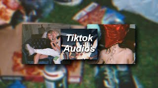 Tiktok edit audios I listen to on REPEAT!!!