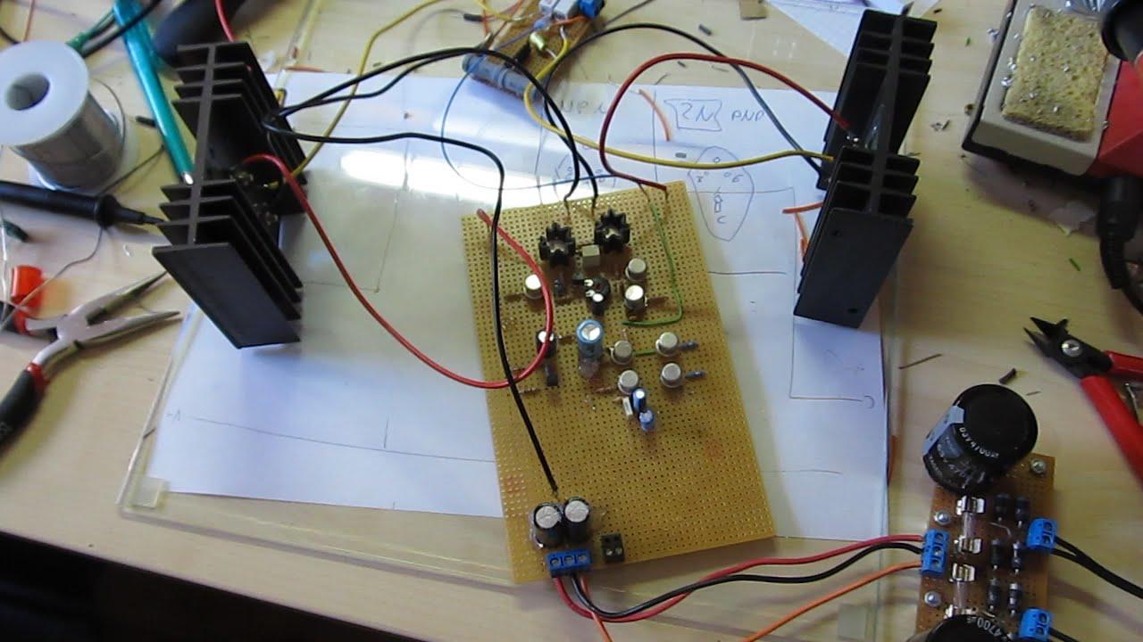 Building a diy audio power amplifier youtube solutioingenieria Gallery