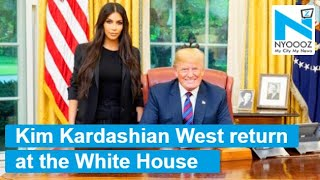 Stick them in UBER AND LYFT !   Wow!   Kim Kardashian West return at the White House to announce rid