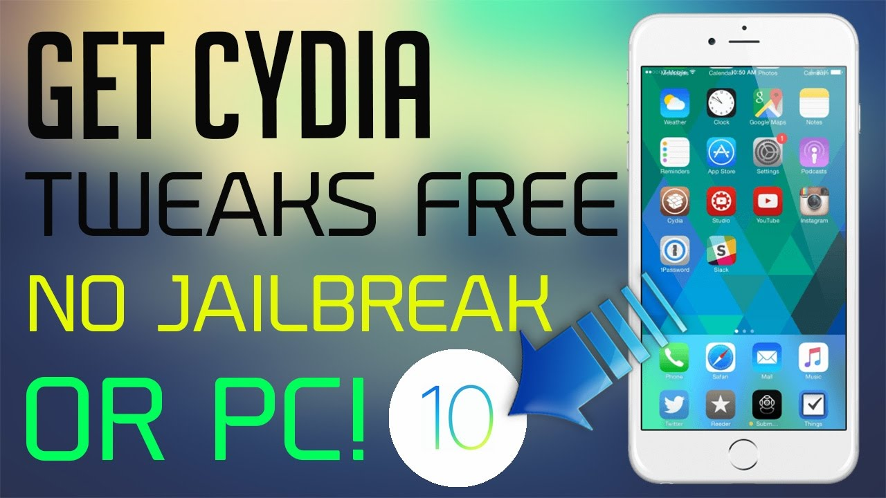 tweak senza cydia