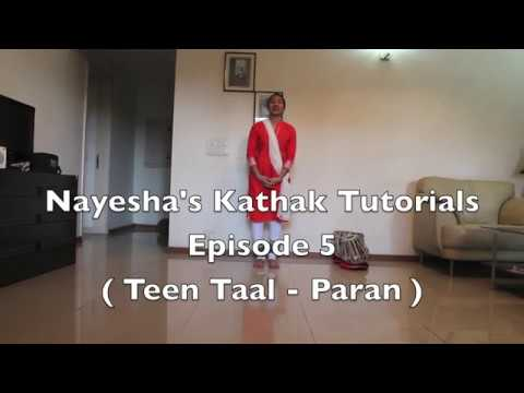 Nayesha's Kathak Lessons For Beginners In Hindi - Episode 5