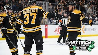 Pastrnak reaches 35 goals with hat trick vs Jets