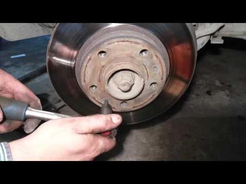 Замена тормозных дисков  Рено Дастер