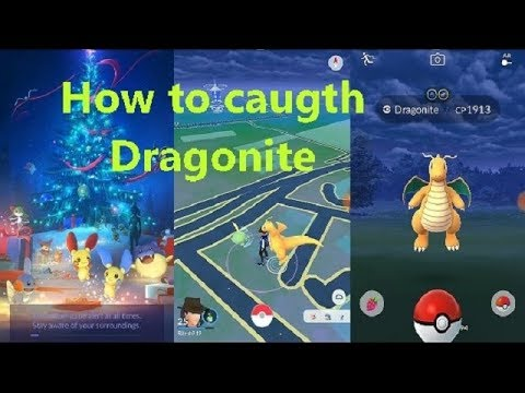 How to catch Dragonite pokemon Go // with Hack in Hindi