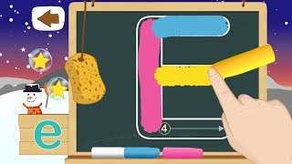 Buchstaben schreiben - ABC Lernen fur Kinder